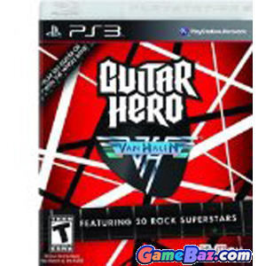 PS3 Guitar Hero: Van Halen Picture / Boxart