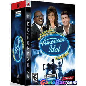 PS3 Karaoke Revolution: American Idol Encore Bundle Picture / Boxart