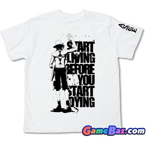 T-Shirts - One piece Ace Waygoing T-Shirts White XL (Anime Toy)