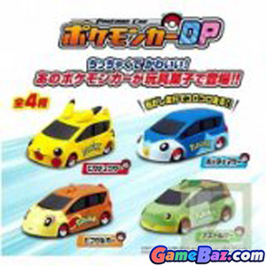 Candy Toy - Diamond & Pearl Pokemon Mini Car Candy Toy Picture / Boxart
