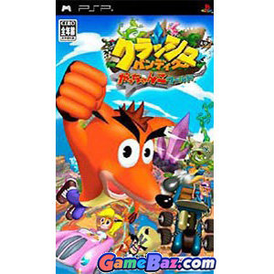PSP Crash Tag Team Racing Picture / Boxart