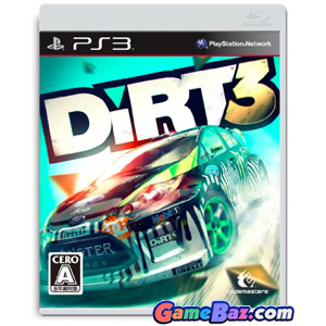 PS3 Dirt 3 Picture / Boxart
