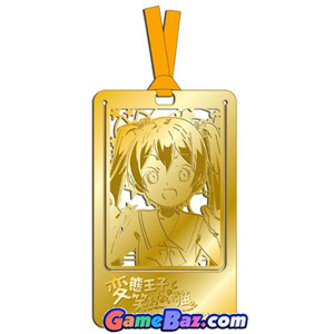 Anime Toy - The Hentai Prince and the Stony Cat. Metal Art Bookmark Emi (Anime Toy)