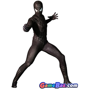 Non-Japanese Character - Movie Masterpiece Spider-Man 3 - Spider-Man (Black Suit Version)