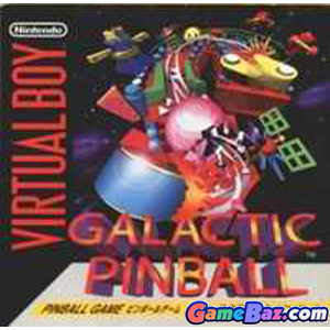 Virtual Boy Galactic Pinball Picture / Boxart