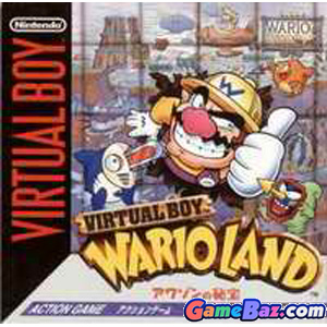 Virtual Boy Virtual Boy Wario Land Awazon no Hihou [pre-owned] Picture / Boxart