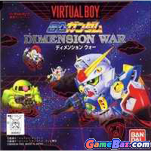 Virtual Boy SD Gundam Dimension War  [pre-owned] Picture / Boxart