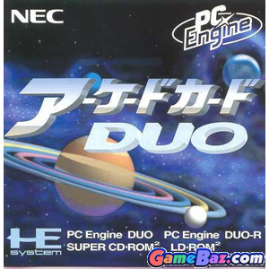 PC Engine Arcade Card Duo Picture / Boxart