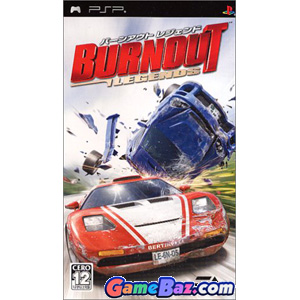 PSP Burnout Legends Picture / Boxart