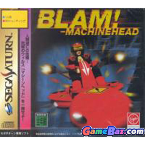 Sega Saturn Blam!-Machinehead  Picture / Boxart