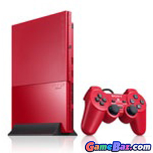 PS2 PlayStation2 Console Cinnabar Red (SCPH-90000CR)