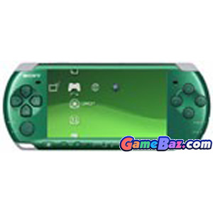 PSP PlayStation Portable Slim & Lite - Spirited Green (PSP-3000SG) Playstation Portable [Pre-owned]