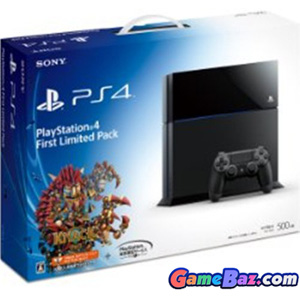 PlayStation 4 System [First Limited Pack] Picture / Boxart