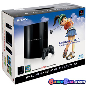 PlayStation3 Console (HDD 20GB Model) w/ Minna no Golf 5 - 110V [pre-owned] Picture / Boxart