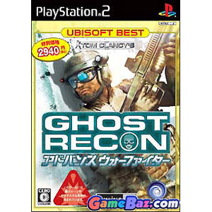 Tom Clancy's Ghost Recon Advanced Warfighter (Ubisoft the Best) PS2 Playstation 2 [Pre-owned]