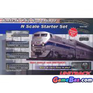 Model Train - Amtrak P42 Superliner Starter Set (8-Car Set) (Model Train) Picture / Boxart