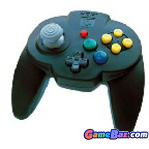 N64 Hori Mini Pad 64 ~ Black Picture / Boxart