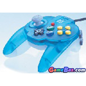 N64 Hori Mini Pad 64 ~ Ocean Blue [pre-owned] Picture / Boxart