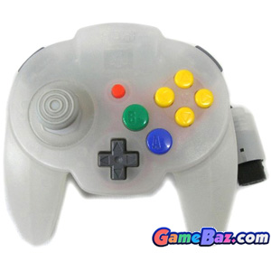 N64 Hori Mini Pad 64 ~ Snow White [pre-owned] Picture / Boxart