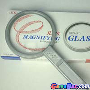 Hand Loupe -  100mm Ideal Magnifier [A] Picture / Boxart