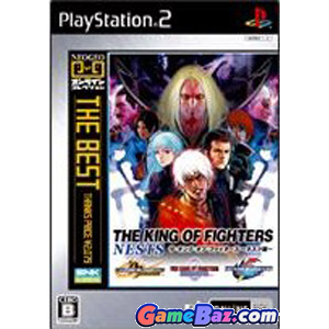 The King of Fighters Nests (Neo Geo Online collection The Best) PS2 Playstation 2
