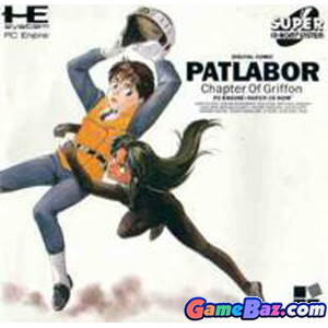 PC Engine Super CD-ROM Patlabor The Mobile Police: Chaptor of Griffon  Picture / Boxart