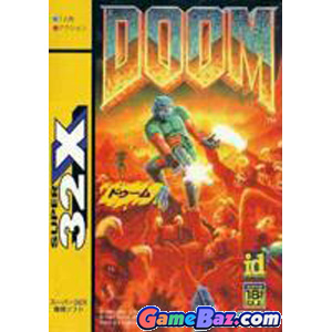 Super 32X Doom Picture / Boxart