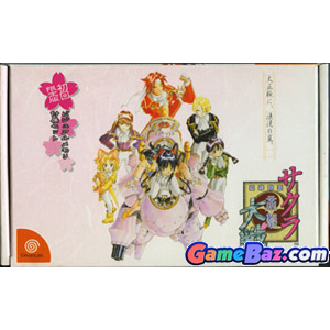 DC Sakura Taisen [Limited Edition] (with Limited Visual Memory VMS/VMU unit) Picture / Boxart