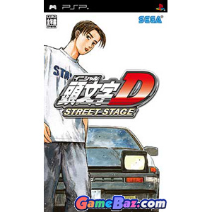 PSP Initial D Street Stage Picture / Boxart