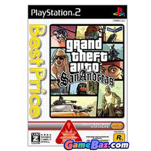 Grand Theft Auto: San Andreas (CapKore) PS2 Playstation 2