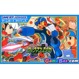 GBA Battle Network Rockman.EXE Picture / Boxart