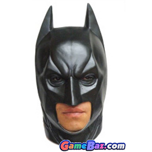 Non-Japanese Character - The Dark Knight Rises Batman Mask (New Combination Super Latex/Handmade) (Completed)