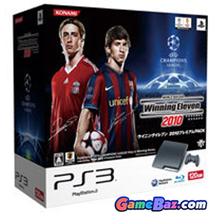 PlayStation3 Slim Console - World Soccer Winning Eleven 2010 Bundle (HDD 120GB Model) - 110V Picture / Boxart