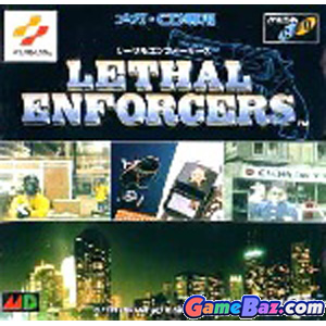 Sega Mega CD Lethal Enforcers [Box Set /w lightgun]  [pre-owned] Picture / Boxart