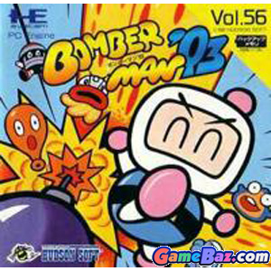 PC Engine SuperGrafx Bomberman  93  Picture / Boxart