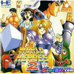 PC Engine Arcade CD-ROM World Heroes 2  Picture / Boxart