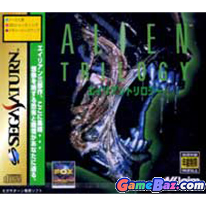 Sega Saturn Alien Trilogy Picture / Boxart