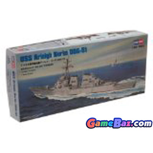 Ship Model - USN Destroyer Arleigh Burke DDG-51 (Plastic model)