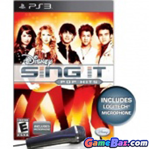 PS3 Disney Sing It: Pop Hits (Bundle) Picture / Boxart
