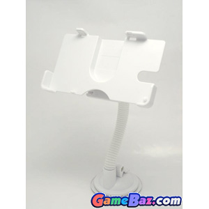 Car Suction Mount Holder - NDS Lite Rotatable Magic Stand (Ugame) ~ White Picture / Boxart