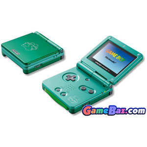 GBASP Console - Pokemon Venusaur Leaf Green (110v Japan) Gameboy Advance Gameboy Advance [Pre-owned]