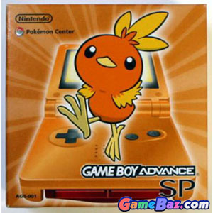 GBASP Console - Pokemon Center Limited Edition Torchic Orange (110V Japan) Gameboy Advance Gameboy Advance [Pre-owned]