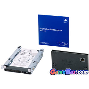 PS2 BB BroadBand Unit (Expansion Bay Type 40GB) (SCPH-10400) Picture / Boxart