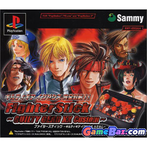 PS2 Joystick - Guilty Gear XX Custom Playstation 2 [Pre-owned]