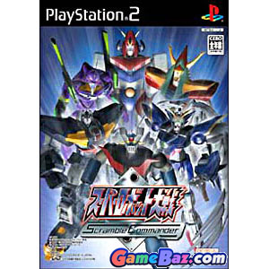 PS2 Super Robot Wars Scramble Commander Picture / Boxart